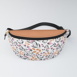 Pink Orange Florals Fanny Pack