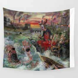 Where the wild things die Wall Tapestry