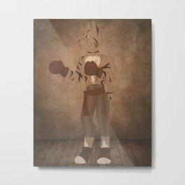 Manx Metal Print