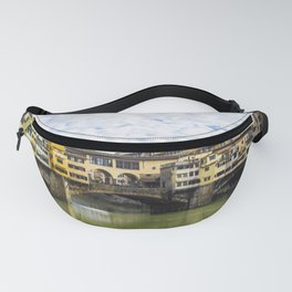 Florence - Ponte Vecchio - Bridge - Italy - Water - River. Little sweet moments. Fanny Pack