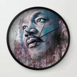 Martin Luther King J Wall Clock