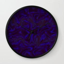 Blue Lala Times Wall Clock