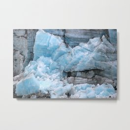 Glacial Lineage Metal Print