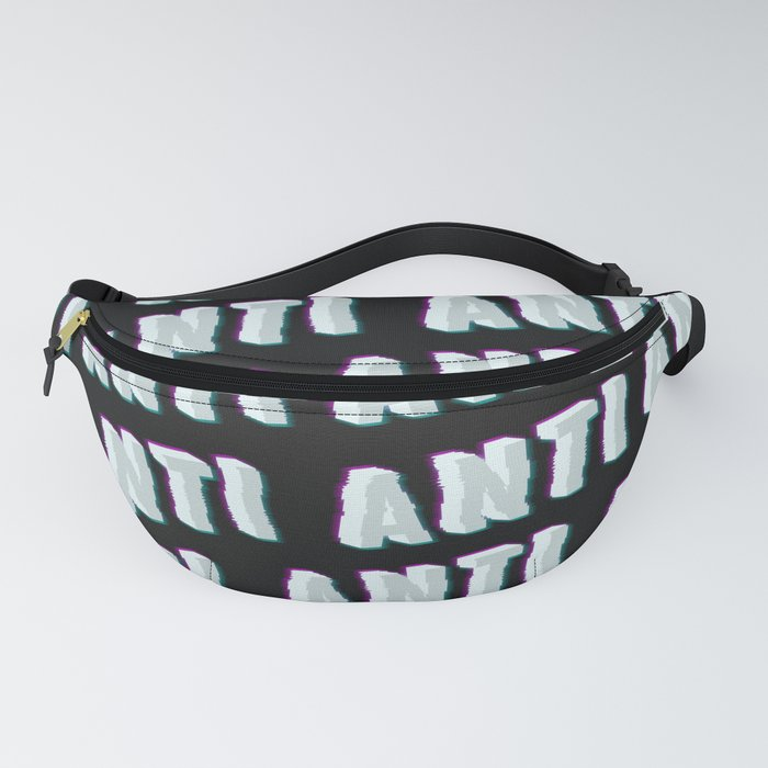 Anti - Typography Fanny Pack