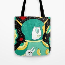 Space Babe Tote Bag