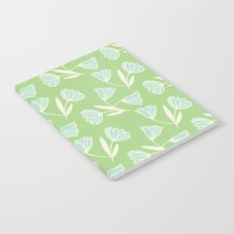 Flowers and wind Notebook