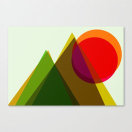 Misty Mountain Hop Canvas Print