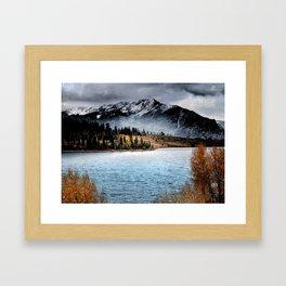 October Morning Framed Art Print