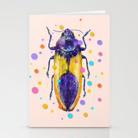 insect Stationery Cards featuring INSECT IX by dogooder