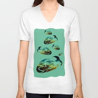 starfish V-neck T-shirts featuring StarFish by 3Gaels Art