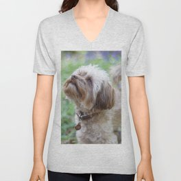 Walkies in the woods Unisex V-Neck