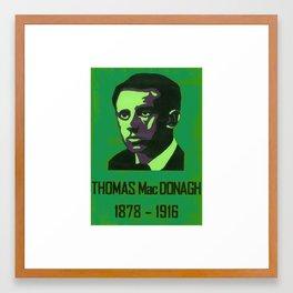 Thomas MacDonagh   1878-1916 Framed Art Print