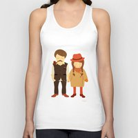 thanksgiving Tank Tops featuring Thanksgiving Happiness by Elena Kouvaros