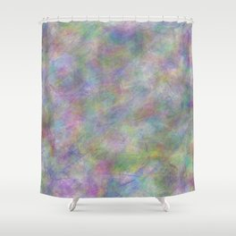 Abstract 4444 Shower Curtain