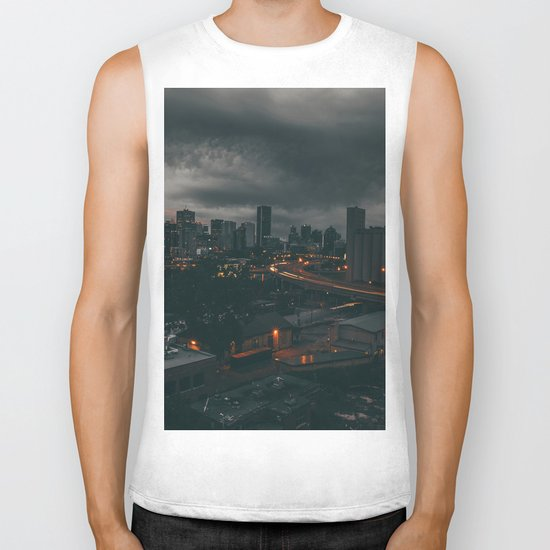 Night city Biker Tank