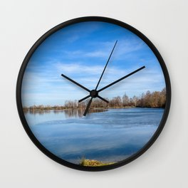 DE - Baden-Württemberg : View to the lake Wall Clock