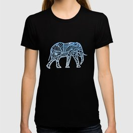 Elephant Mandala drawing colorful africa drawing T-shirt