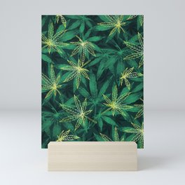 Leaf Your Worries Behind  Mini Art Print