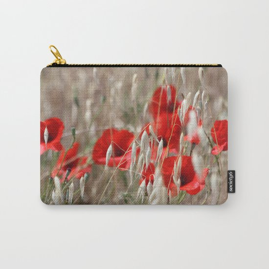 Poppies  - JUSTART © Carry-All Pouch