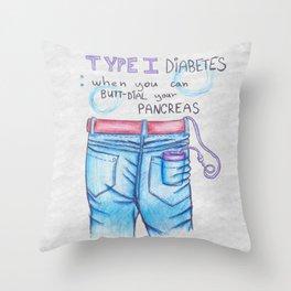 T1D Throw Pillow