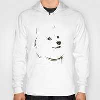 doge Hoodies featuring Doge by Creadoorm