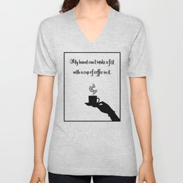 My Hand Can't... Unisex V-Neck