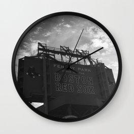 Fenway sign Wall Clock