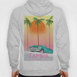 Tampa Florida Travel poster Hoody