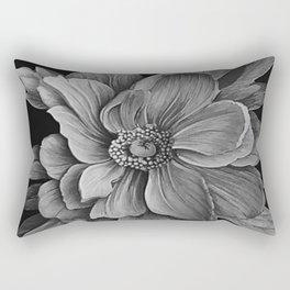 Sing - Tones of Grey Rectangular Pillow