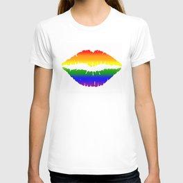 Rainbow Lips (LGBT, LGBTQ) T-shirt