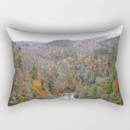 Fall Forest, Vertical Rectangular Pillow