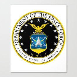 Department of the Space Force Canvas Print