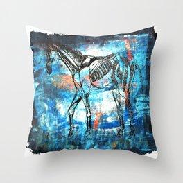 Inner Horse 2 Throw Pillow