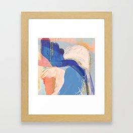 Sanibel - Shapes and Layers no. 34 - Abstract Framed Art Print