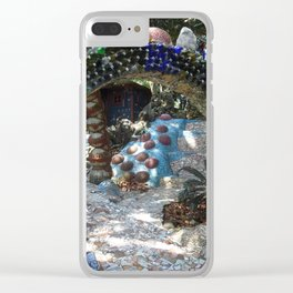 Mosaic Garden Clear iPhone Case