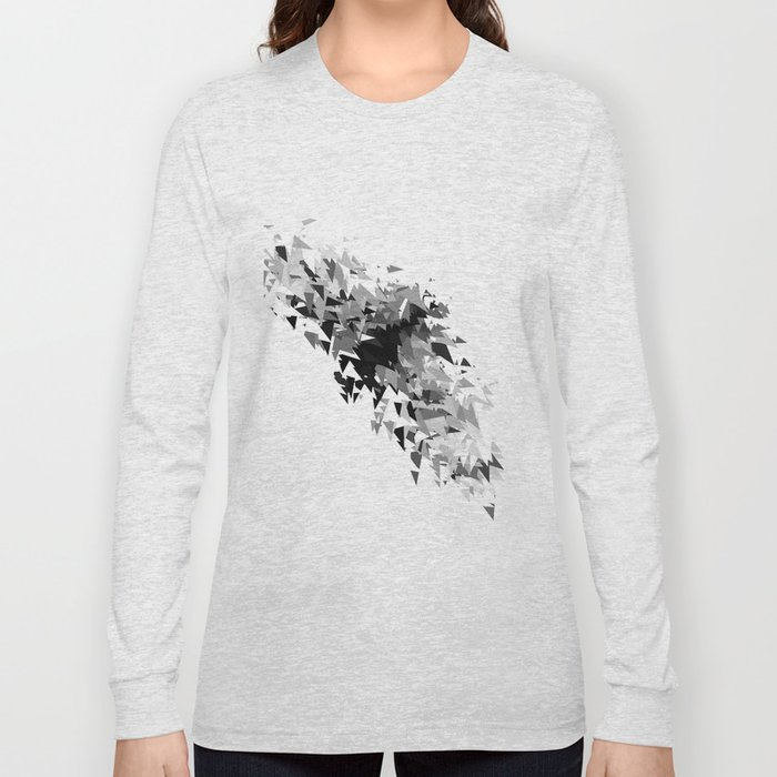 Triangles flow Long Sleeve T-shirt
