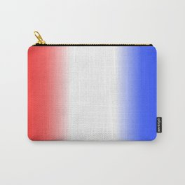 Red White and Blue Stripes Carry-All Pouch