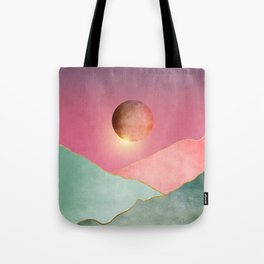 Surreal sunset 02 Tote Bag