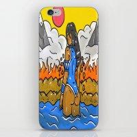korra iPhone & iPod Skins featuring Korra by TheArtGoon