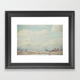 summer days... Framed Art Print