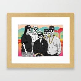 Compton Framed Art Print