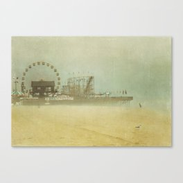 Seaside Heights Fun town pier New Jersey Canvas Print