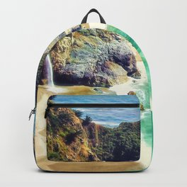 McWay Falls Big Sur California Backpack