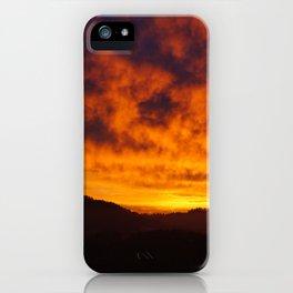 Winter Sunset 2 iPhone Case