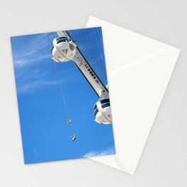Hanging Around At The High Roller Stationery Cards