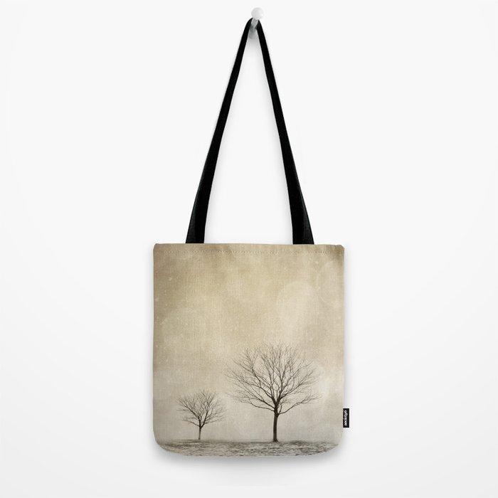 Snow Bokeh Wonderland  Tote Bag