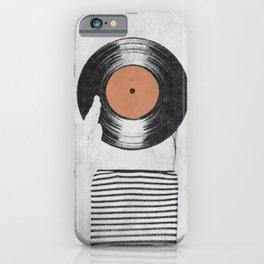 Vinyl record head ... iPhone Case
