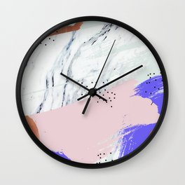 Unfolding Significance #society6 #decor #buyart Wall Clock