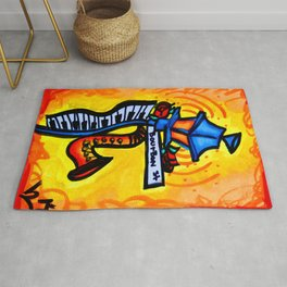 Bourbon St. Music post Rug
