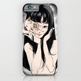 Tomie Junji Ito Minimalist anime Poster  iPhone Case
